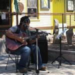 Music at Paisley Town (photo by Kate Benjamin)