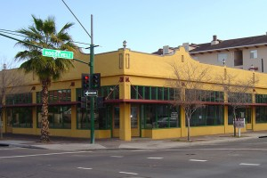 The historic Gold Spot building welcomes Lola Coffee on Friday.