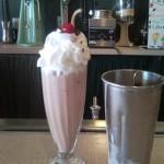 Sips and Grub | Chocolate Shake at MacAlpine's Soda Fountain