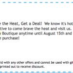 Downtown Beat | Summertime Deals