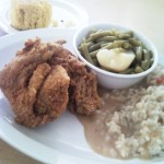 Sips and Grub | Southern Fried Chicken at Mrs. White's Golden Rule Café