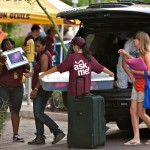 Students Move in to Taylor Place