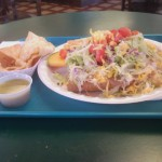 Sips and Grub   Tostada and Taco at Azteca Bakery & Mexican Fast Food