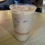 Sips and Grub | Peach Cobbler Latte at Fair Trade Café