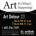 Artlink's Art Detour Weekend Schedule and Lineup