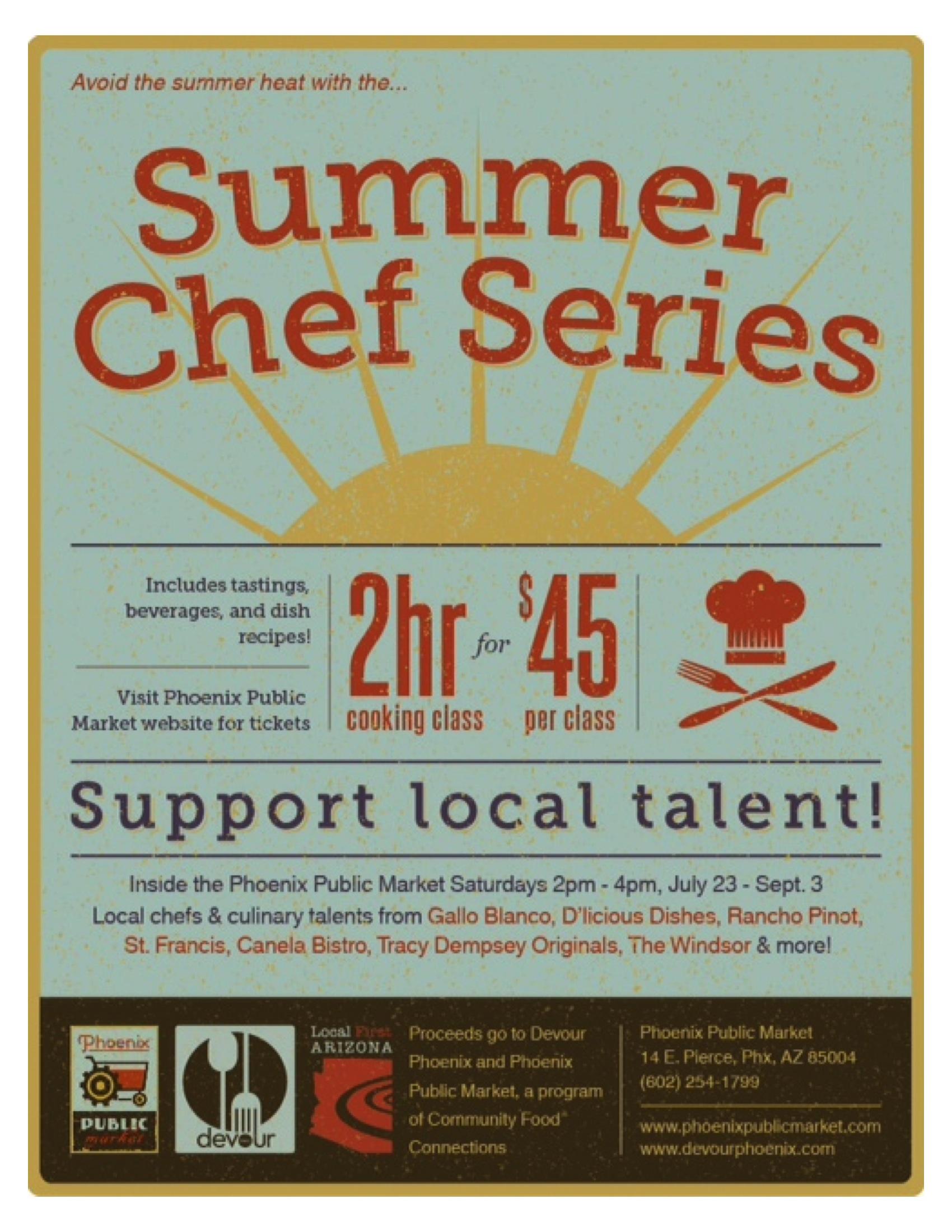 Summer Chef Series