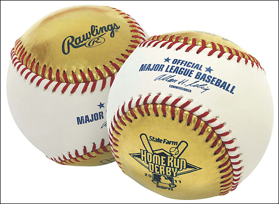 Home Run Derby Gold Balls