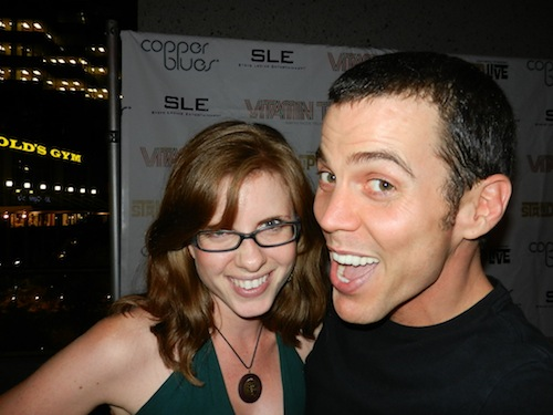 Nicole and Steve-O
