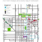 First Friday Art Walk and Shuttle Map