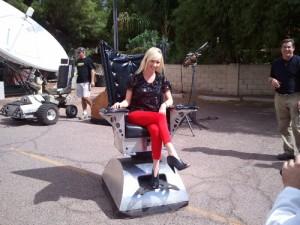 Maker Faire Robo Chair