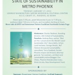 From the Wire   State of Sustainability in Metro Phoenix Event