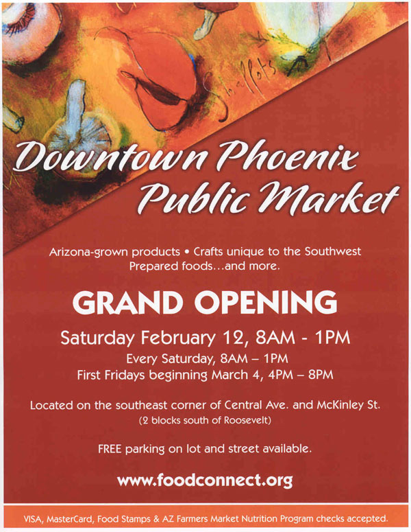 Market opening day downtown phoenix journal