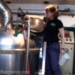 Tonya Cornett brewing at Bend Brewing Co