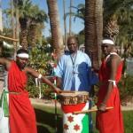 Burundi Drummers Roar Like Thunder at Centennial Bash