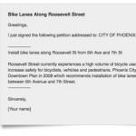 Petition Urges Bike Lanes on Roosevelt