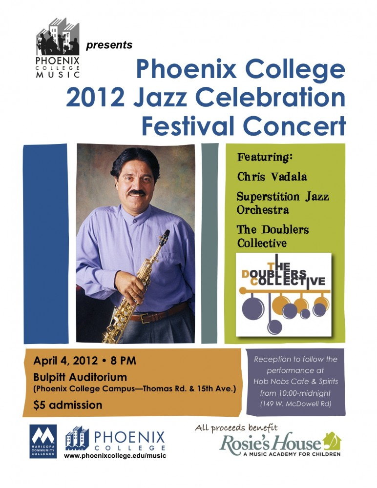 Jazz Festival Poster 2012