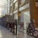 The display takes center stage in the Atrium.