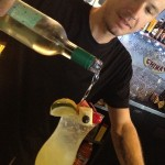 Bartender Brian Cresson.