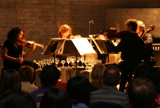 Downtown Chamber Series musicians