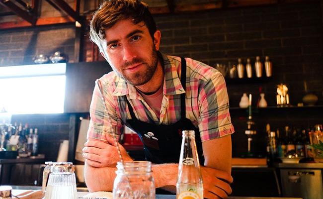 Bartender Ben Linsenmeyer