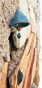 Copper blue bell by Kristel Nielsen