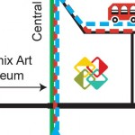 Map | First Friday Art Walk and Expanded Trolley Tour