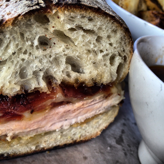 The pig dip sandwich