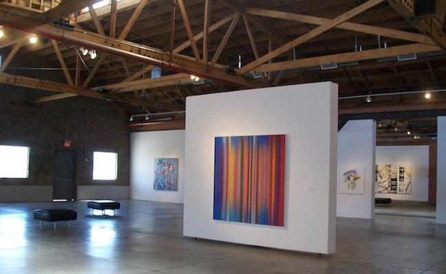 Neo Chroma exhibition, courtesy of Bentley Gallery