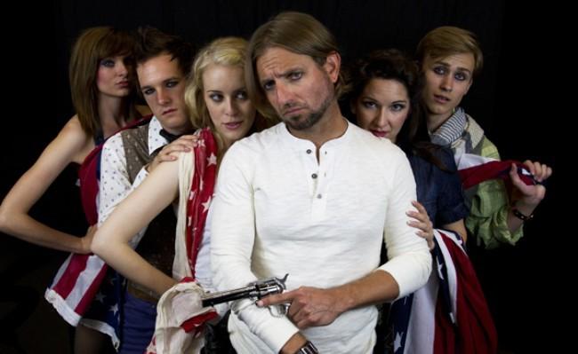 """Phoenix Theatre's """"Bloody Bloody Andrew Jackson"""" (photo courtesy of Phoenix Theatre)"""