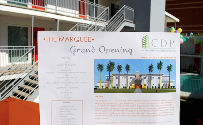 Marquee Feature