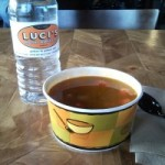 Sips and Grub | Harira Soup at Luci's Healthy Marketplace