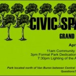 Civic Space Grand Opening