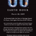 Go Dark This Saturday For Earth Hour