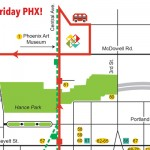 First Friday Ideas and Map for October