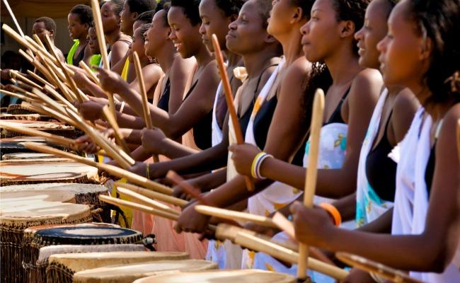 Ingoma Nshya Drummers © Lex Fletcher.