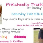 PinkCheeky Trunk Show(cases) Organic Apparel at Bunky Boutique