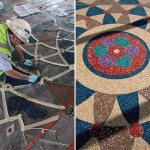 Wire | Behind the Design & Construction of PHX Sky Train's Terrazzo Floors