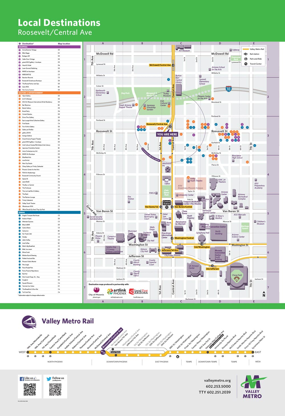 Valley Metro and Partners Link Light Rail to Neighborhoods