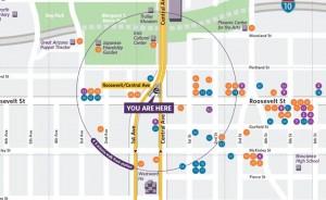 Neighborhood-maps-feature
