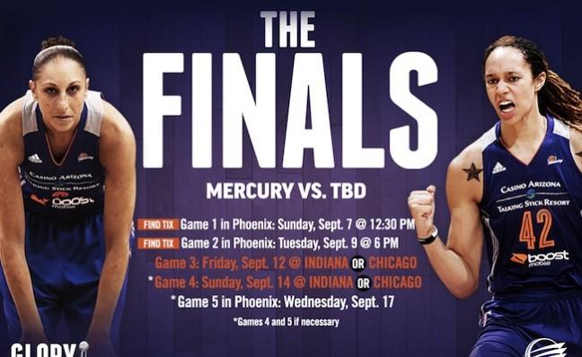 Mercury finals feature