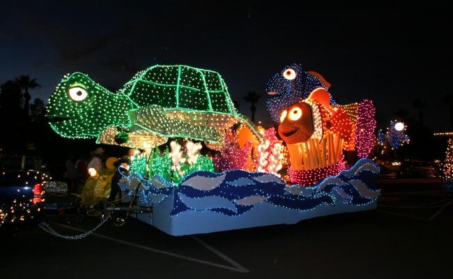 Nemo float, Electric Light Parade 17 12.4.03