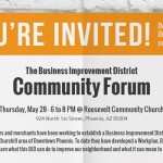 Community Forum Presents Next Steps to Roosevelt BID Development
