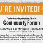 Community Forum Presents Next Steps to Roosevelt BID Development