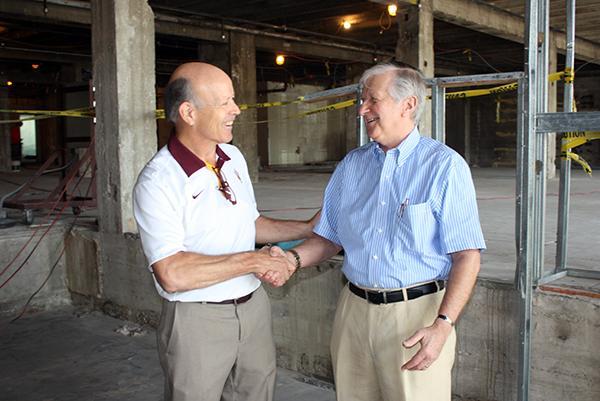 ASU Michael Shafer and John Bentz of Westward Ho/PAG-CDG