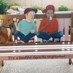 Wire | Be a Good Neighbor Bench Warming