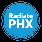 Radiate logo stacked