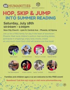 AZ Humanities_Hop Skip and Jump Into Summer Reading