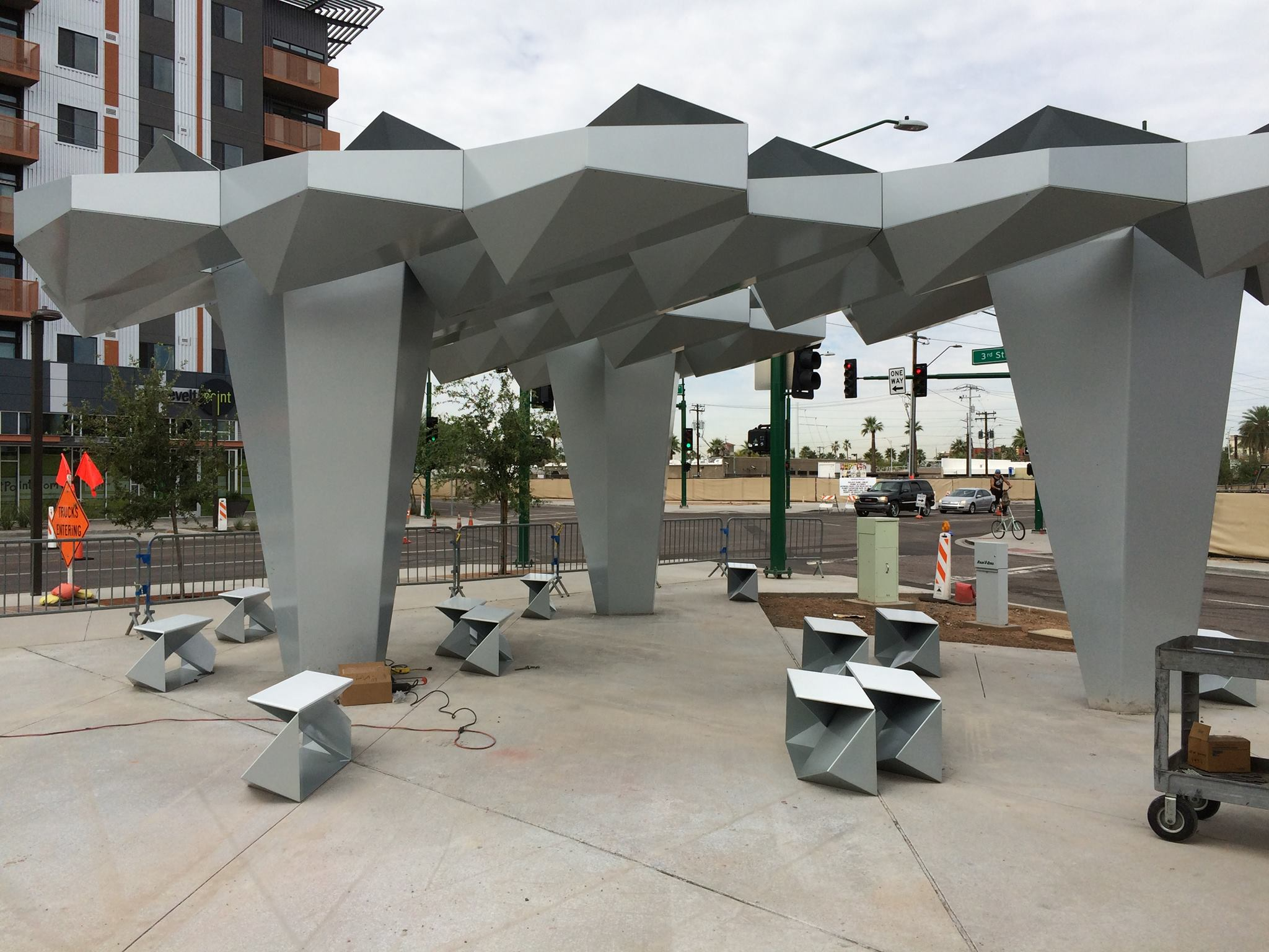 Roosevelt Art District Phoenix Shade