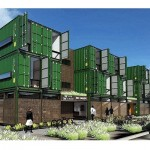 Shipping Container Developments Make Their Home in Downtown