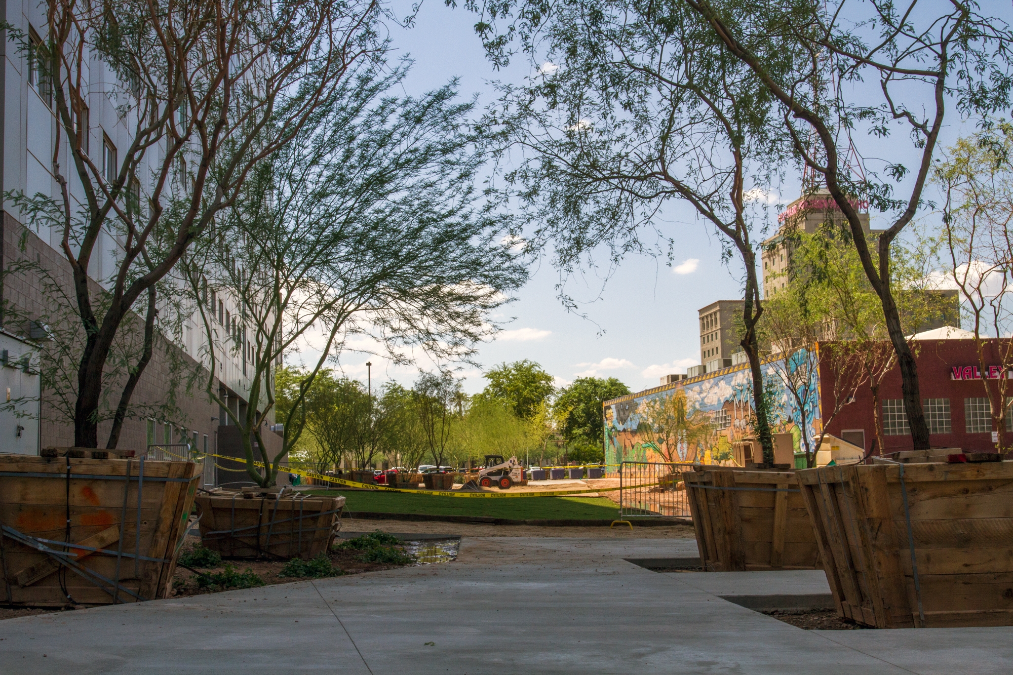 Wire Vacant Lot Becomes Space Between Pocket Park